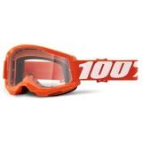 Очки 100% Strata 2 Orange / Clear Lens