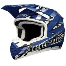 Acerbis Шлем кроссовый X-FIBER ATOMIC blue