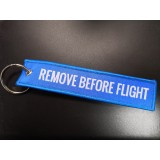 Брелок REMOVE BEFORE FLIGHT blue