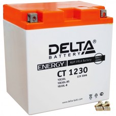 CT1230 (YTX30L, YTX30L-BS, YB30L-B) 12v 30Ah