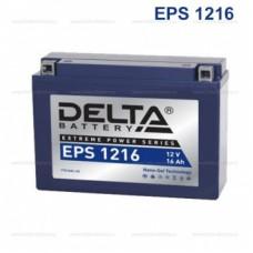 Аккумулятор мото EPS1216 16A/h (YB16AL-A2)
