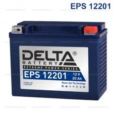 Аккумулятор мото EPS12201 20A/h (YTX20L-BS/YTX20HL-BS)