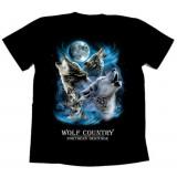 Футболка байкерская WOLF COUNTRY