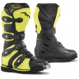 Мотоботы FORMA COUGAR BLACK/YELLFLUO