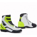 Мотоботы FORMA AXEL WHITE/BLACK/YELLOWFLUO