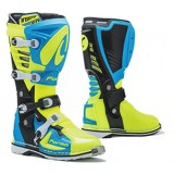 Мотоботы FORMA PREDATOR 2.0 LIGHT BLUE/YELLOWFLUO