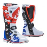 Мотоботы FORMA PREDATOR 2.0 WHITE/RED/BLUE