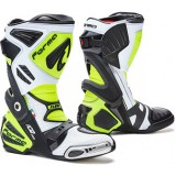 Мотоботы FORMA ICE PRO FLOW WHITE/BLACK/YELLOWFLUO