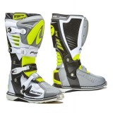 Мотоботы FORMA PREDATOR 2.0 GREY/WHITE/YELLOWFLUO