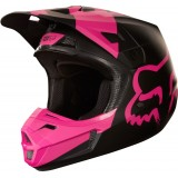 Мотошлем Fox V2 Mastar Helmet Black