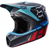 Мотошлем Fox V3 Seca Helmet Grey/Red