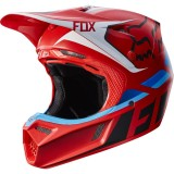 Мотошлем Fox V3 Seca Helmet Red