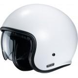 Шлем HJC V30 SEMI FLAT WHITE