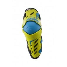 Наколенники Leatt Dual Axis Knee & Shin Guard Lime/Blue