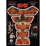 Наклейка на бак AC/DC HIGHWEY TO HELL FIRE