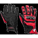 Мотоперчатки MadBull A3 Red