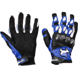 Мотоперчатки MadBull A5 Blue
