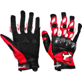 Мотоперчатки MadBull A5 Red