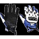 Мотоперчатки MadBull A6 Blue