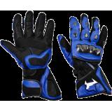 Мотоперчатки MadBull R5 Blue