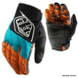 Перчатки TLD Grand Prix black-blue-orange