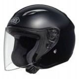 SHOEI J-WING PLAIN BLACK
