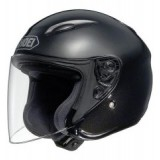 SHOEI J-WING CANDY BLACK MET