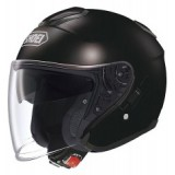 SHOEI J-CRUISE CANDY PLAIN BLACK