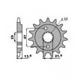 Звезда передняя PBR 346 16 (JTF296.16)