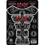 Наклейка на бак AC/DC BLACK ICE