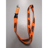 Шнурок для ключей KTM оранжевый