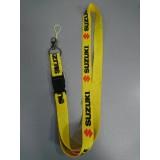 Шнурок для ключей SUZUKI жёлтый чёрный