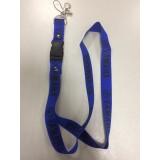 Шнурок для ключей YAMAHA синий чёрный