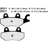 Тормозные колодки Nissin 2P-271NS (250)