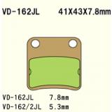 Тормозные колодки VESRAH VD-162JL