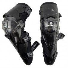 Наколенники шарнирные Knee & Shin Guard Black One Size