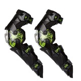 Наколенники шарнирные Knee & Shin Guard Green One Size